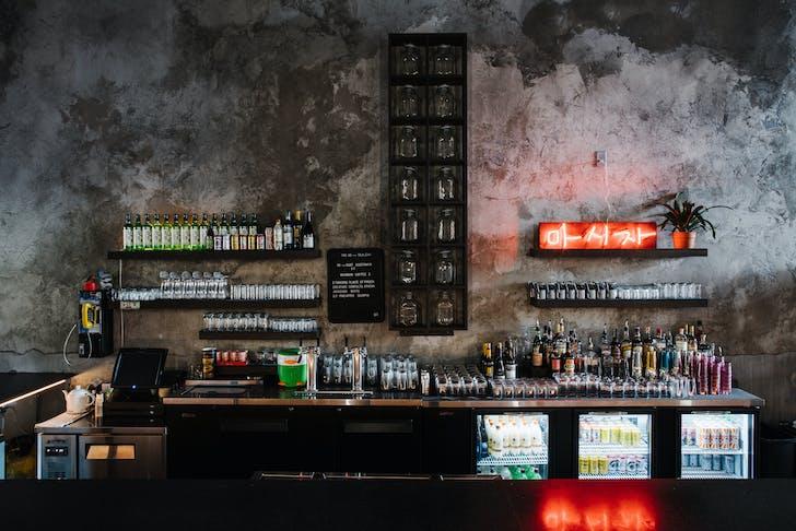 Gaja Korean Bar in Atlanta, GA.