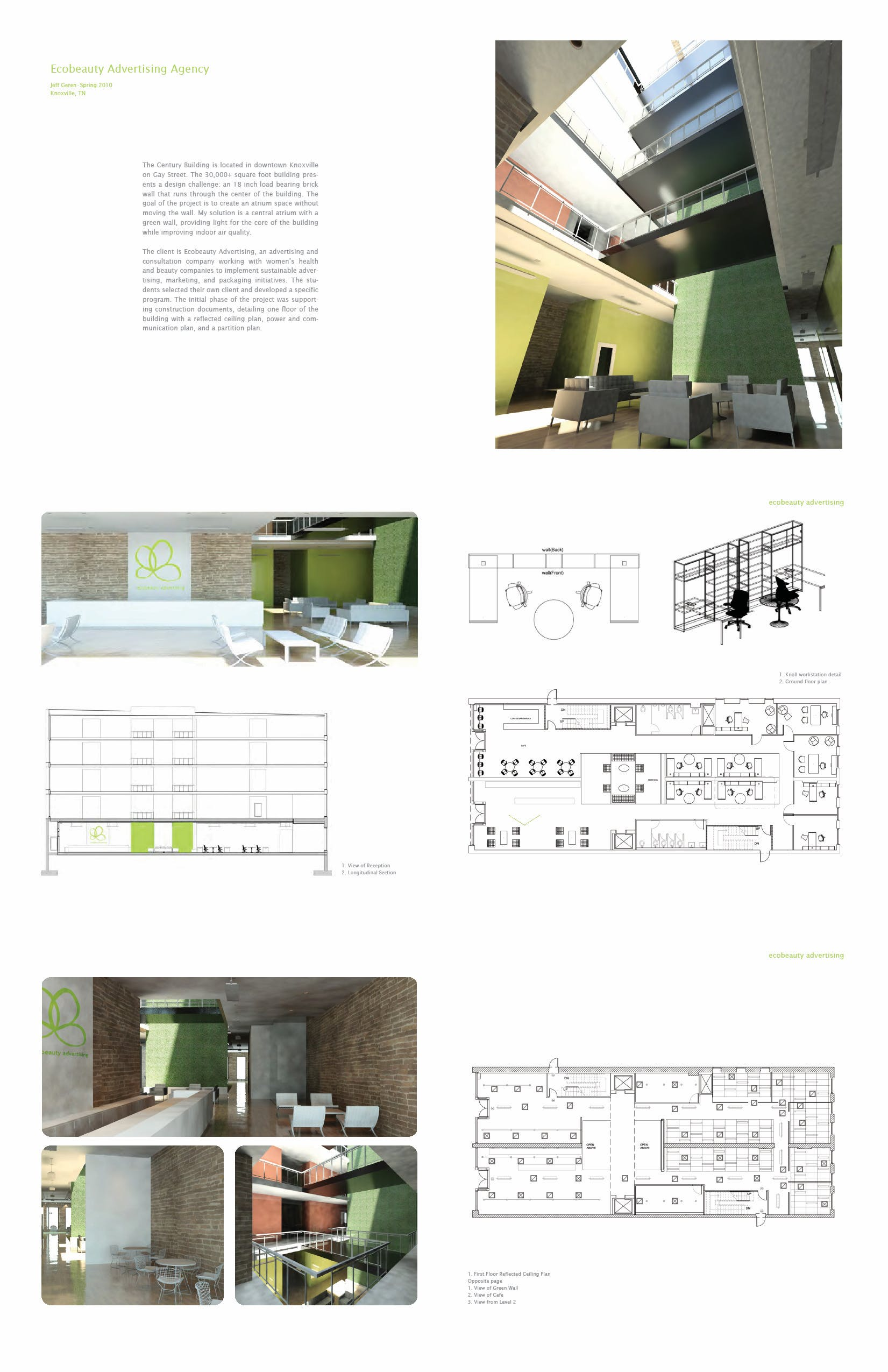 Status School Project Location Knoxville TN US My Role Interior Design Architecture With One Team Mate Additional Credits Carly Pfahl