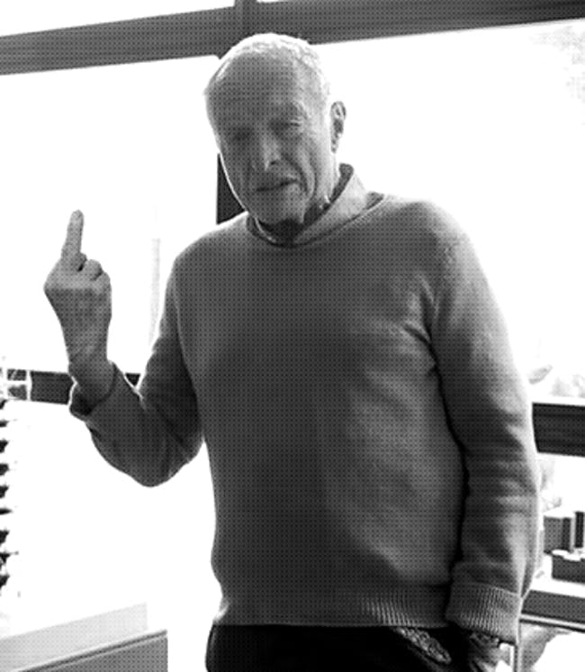 Richard Rogers. Image via supportingfrankgehry.tumblr.com