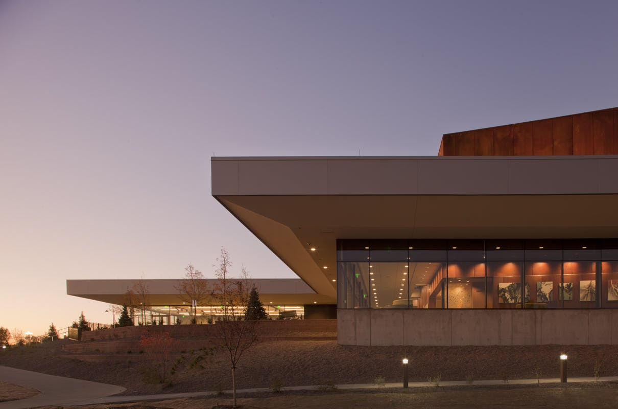 House Of Bryan Floor Plan Parker Arts Culture Amp Events Center Pace Semple Brown
