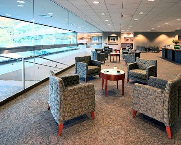 Open Office Meeting Area