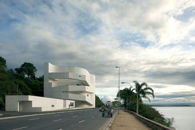 Iberê Camargo Foundation in Porto Alegre, Brazil, by Álvaro Siza Vieira. Image courtesy of the MCHAP.