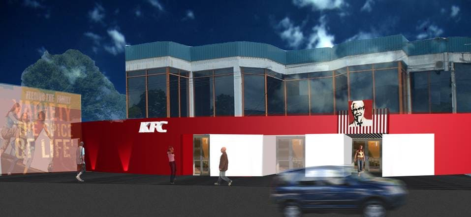 kfc outlets at majestic city  nugegoda  u0026 pelawatta