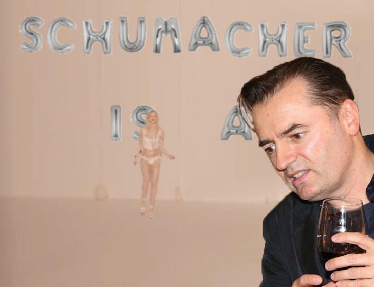 'Schumacher is a ––––'
