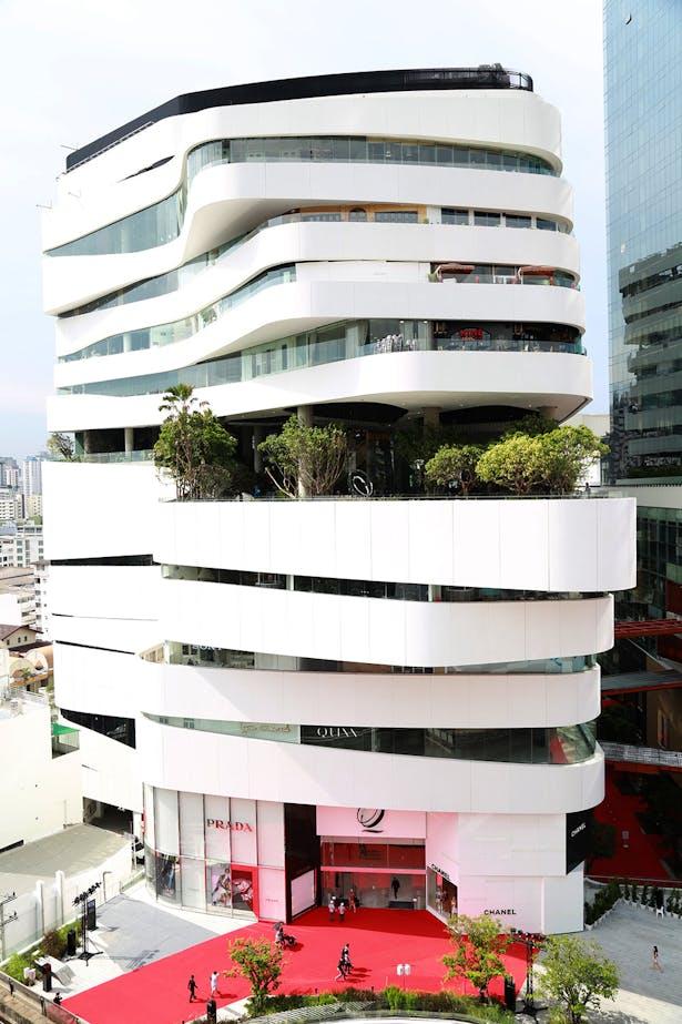 Facade - Building A