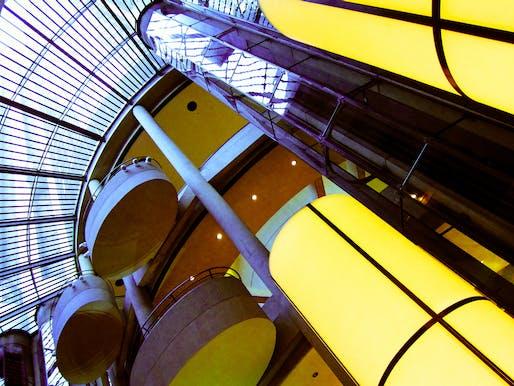 The Bonaventure Hotel in downtown Los Angeles by John Portman. Photo: Nan Palmero/Flickr.