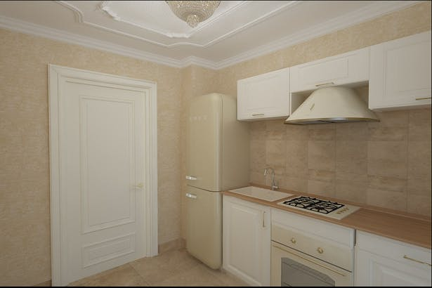 Amenajare interioara bucatarie clasica - Design interior Constanta