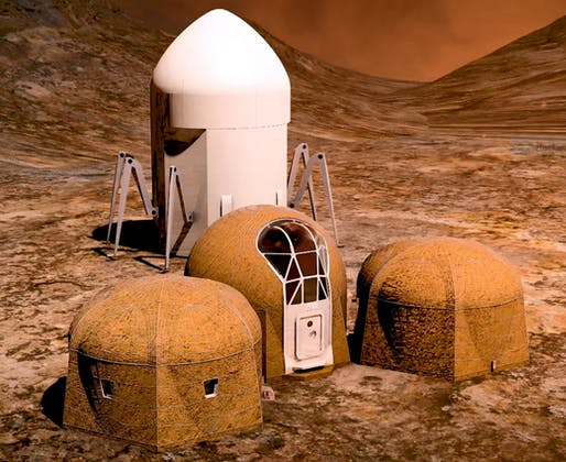 Team Zopherus of Rogers, Arkansas, first-place winner in NASA's 3D-Printed Habitat Challenge, Phase 3: Level 1 competition.