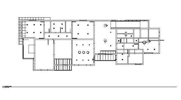 1st floor reflective ceiling plan
