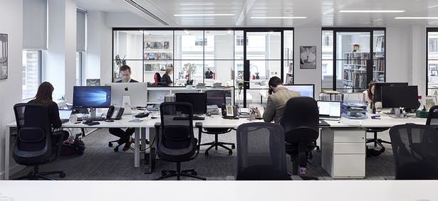 Floor-to-ceiling glazing promotes connectivity and maximises natural light