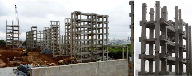 Pre-fabricated Housing Structure in Heliopolis Favela, Sao Paulo (Brazil)