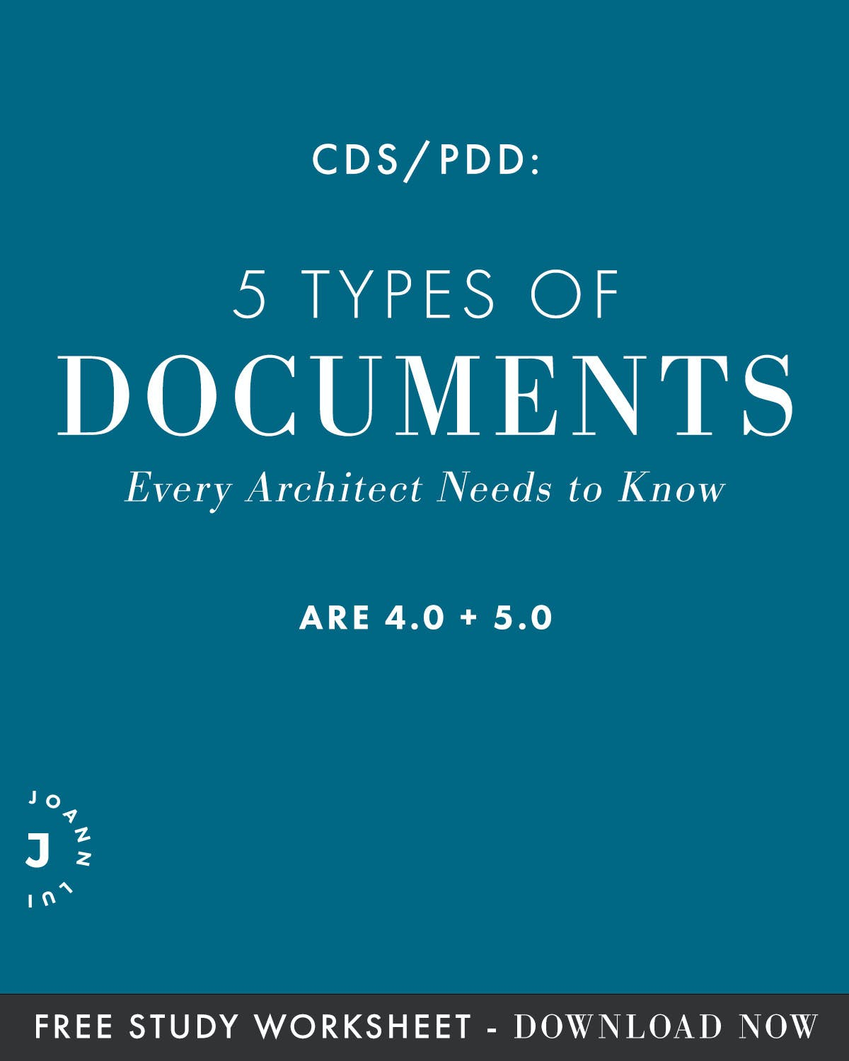 CDS/PDD: 5 Types Of Documents Every Architect Needs To Know | Blogs