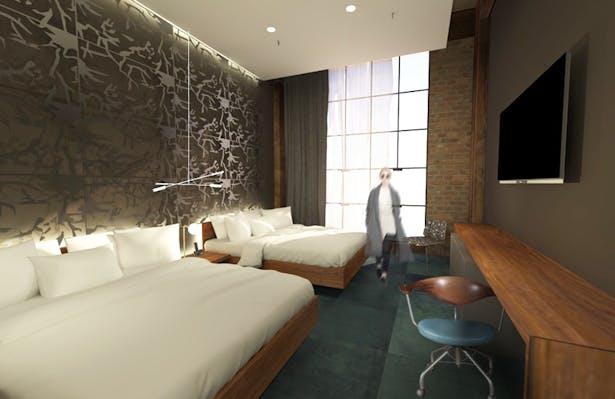 Double - Prototypical Guestroom