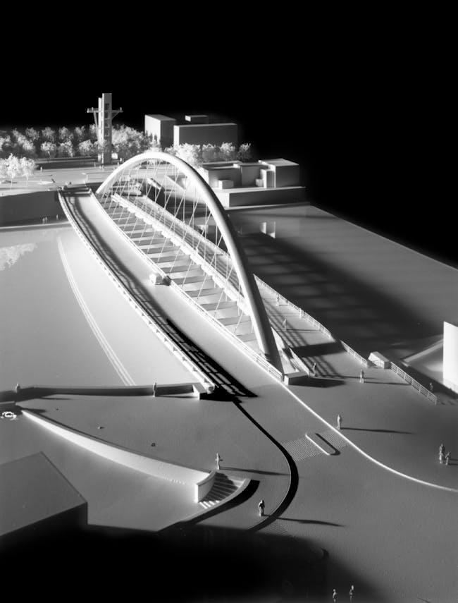 Citadella Bridge, Model. Photo credit: ESTO