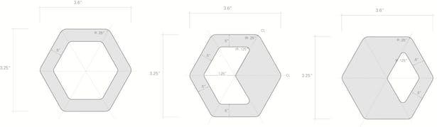 Drawings for extrusion die