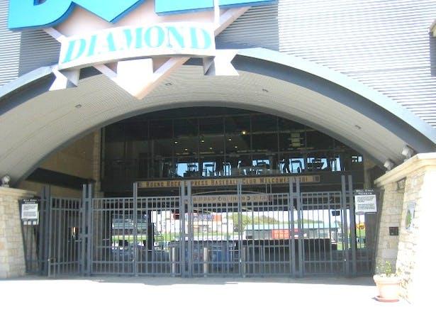 Club Facade from Main Entry