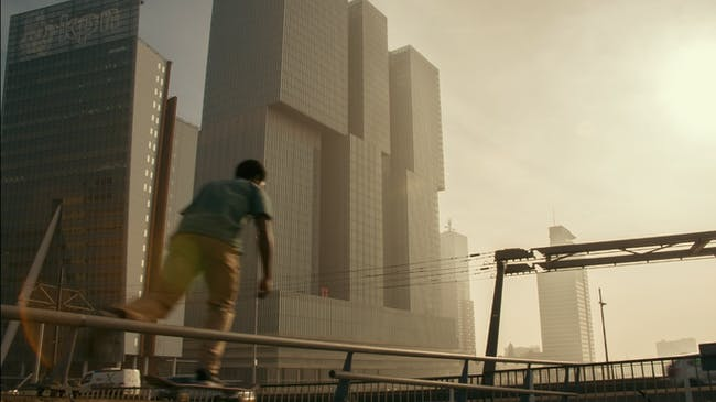 Screenshot from REM, courtesy of Tomas Koolhaas.