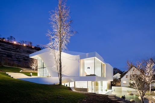 unstudio completes haus am weinberg news archinect. Black Bedroom Furniture Sets. Home Design Ideas