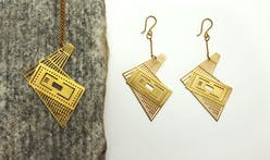 Spruce up with this architectural floor-plan jewelry by QUPA