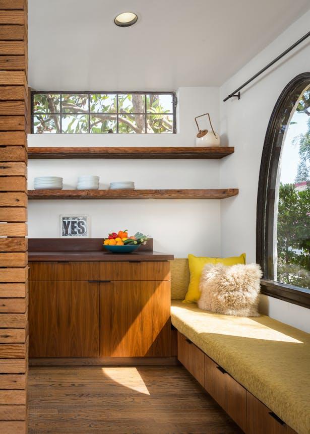 Boise Residence Kitchen window seat