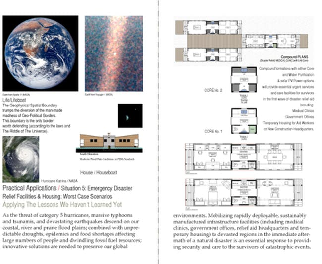 world wide Modular Habitat (wwMH)- mobile modular medical clinic via James Monday.