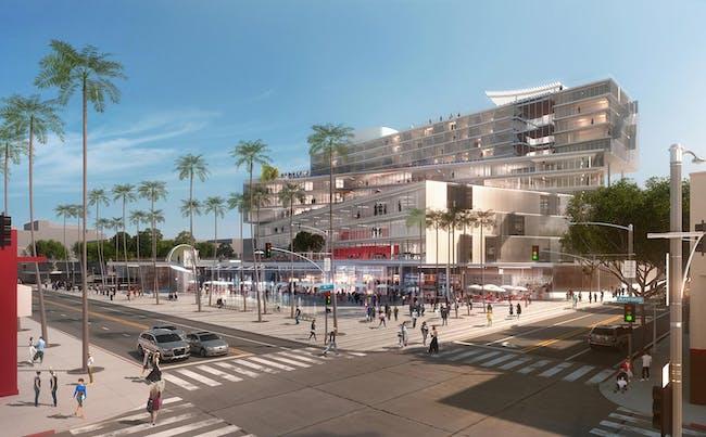The Plaza at Santa Monica, Image © OMA