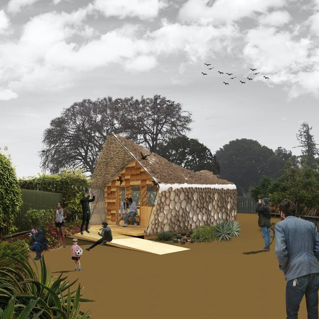 Official rendering of the Bi(h)OME (via bihome UCLA site)