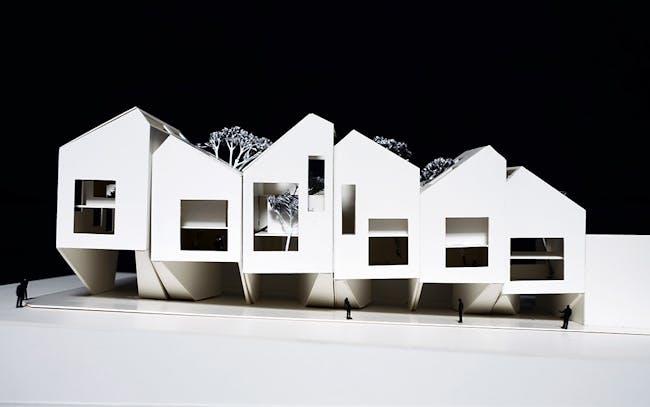 Bondi Beach Houses by James Seung Hwan Kim