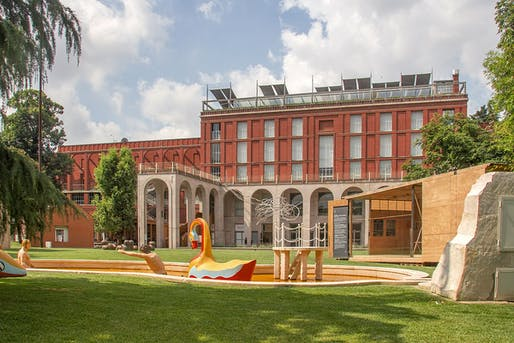 Milan's Palazzo dell'Arte, home to the Triennale Design Museum.