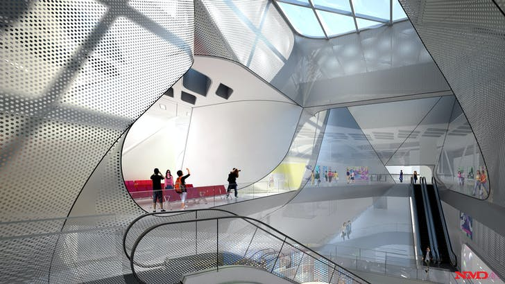 Terminal central atrium (Image: NMDA)