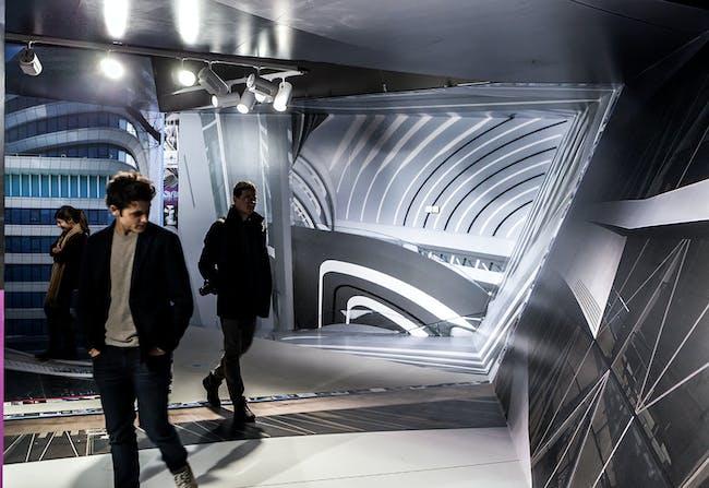 UNStudio's 'Motion Matters' at the MAXXI Museum. Photo © Cesare Querci