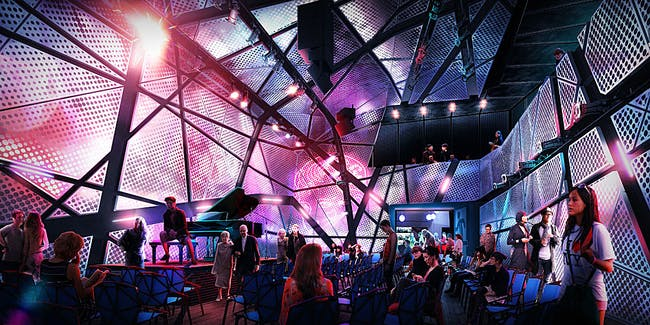 Performance Hall in the National Sawdust / Original Music Workshop venue in Brooklyn, NY. Image: Bureau V.