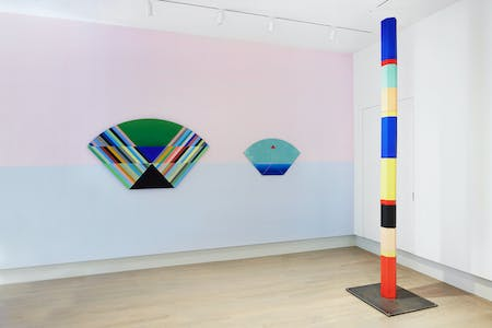 Anton Ginzburg: VIEWs at Helwaser Gallery, New York. Photography by Phoebe' d'Heurle. Courtesy of Helwaser Gallery. © Anton Ginzburg.