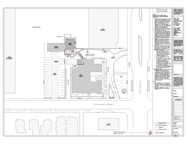 Rose Hills, Alhambra_Site Plan
