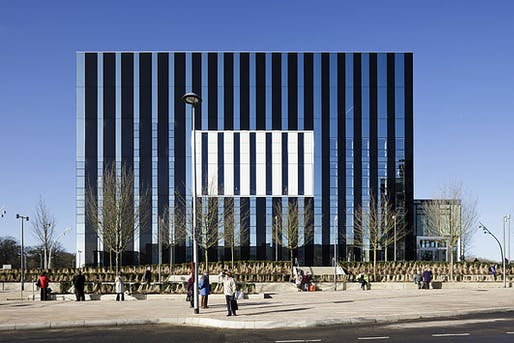 Corby Cube by Hawkins\Brown Architects. Photo: Tim Crocker