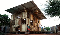 Proyecto Chacras: a house built in ten days with only recycled materials