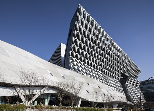 The Kolon Group facility in Seoul by Morphosis Architects. Photo: Jasmine Park, courtesy of Morphosis.
