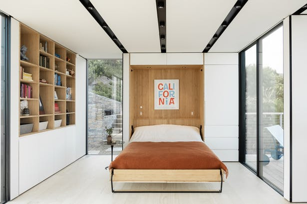 Integrated Storage and Murphy Bed