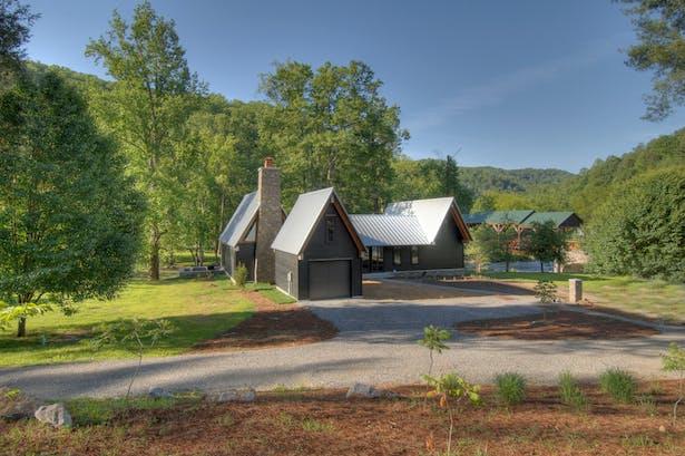 Tellico Cabin Hefferlin Amp Kronenberg Architects Archinect