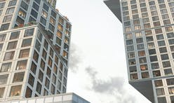 OMA breaks ground on new twin tower complex in Brooklyn