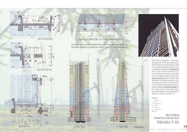 Sections & construction details