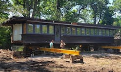 Frank Lloyd Wright's Glencoe Booth Cottage, saved from demolition, is moving this week