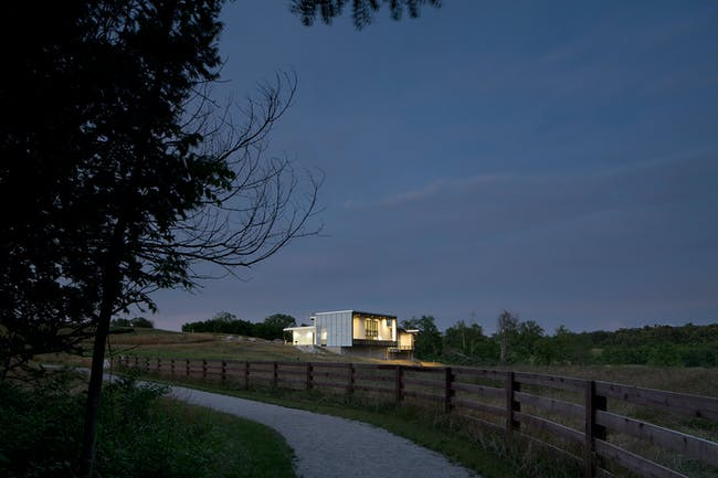 Sense of Place: Battelle Darby Creek Metro Park Nature Centre by Design Group. Photo by Brad Feinknopf