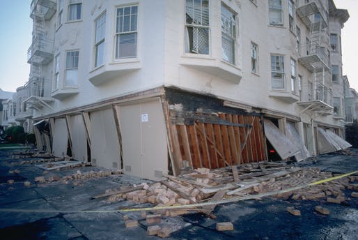 Shown: soft story collapse in San Francisco following the Loma Prieta earthquake of 1989. Image courtesy of J.K. Nakata, United States Geological Survey.