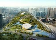 Asian Games 2022 Master Plan and Hybrid Buildings