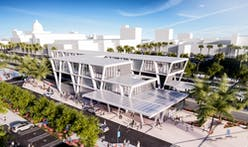 SOM completes three new Brightline Florida rail stations