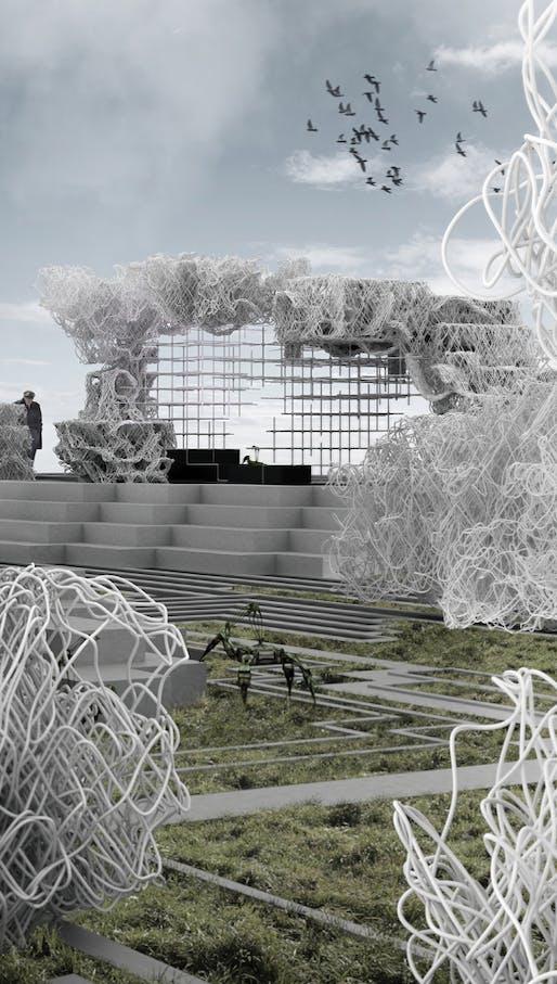 2nd prize: Embodied Homeostasis. Author: David Stieler (Architect) | Austria.