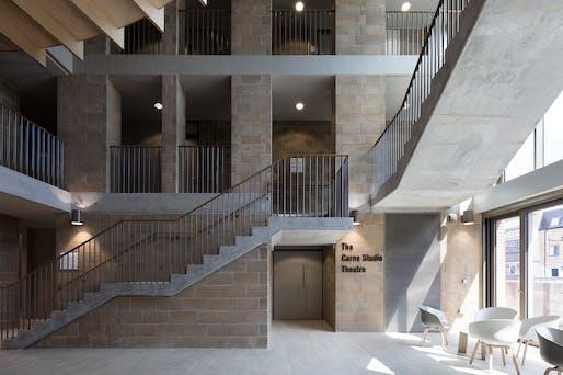 LAMDA, W14 by Niall McLaughlin Architects for LAMDA.