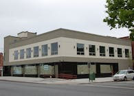 2 story commercial building