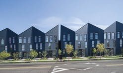 Folded facades define an origami-inspired residential development in Portland